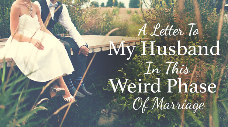 a-letter-to-my-husband husband and wife sit on bridge