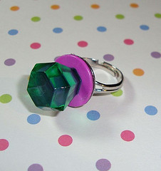 Candy Diamond Ring