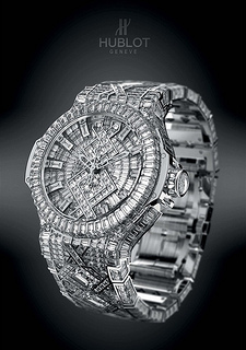 Extremely Expensive Diamond Encrusted Watch