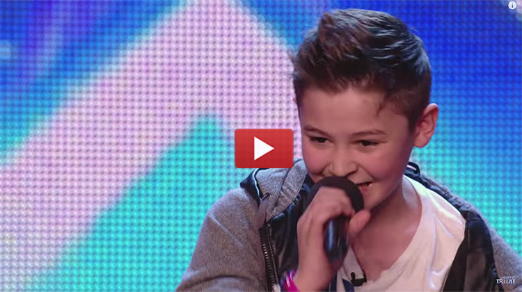 Bars & Melody singing on Britains' Got Talent