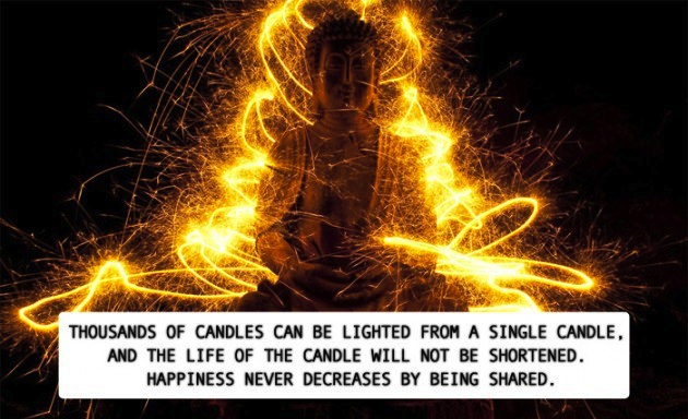light candles of kindness