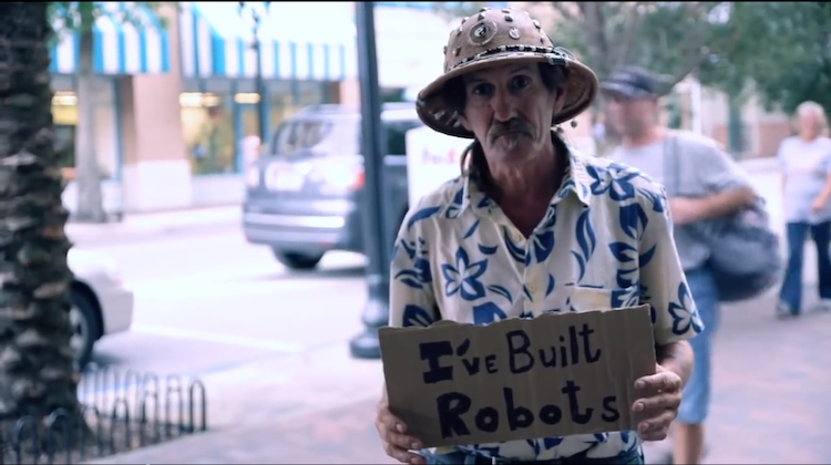 homeless man shares surprising fact