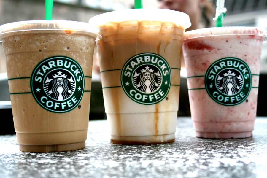 starbucks different drinks