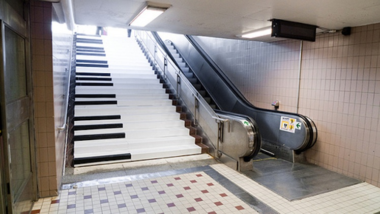 Piano Musical Stairs in Sweden via Volkswagen
