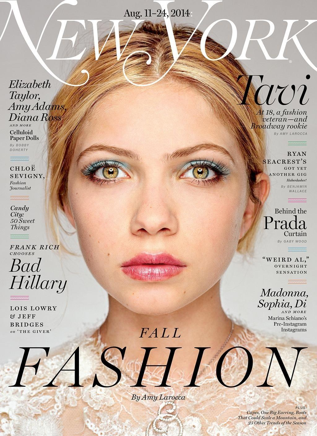 tavi gevinson covers and is interviewed in new york magazine 2014