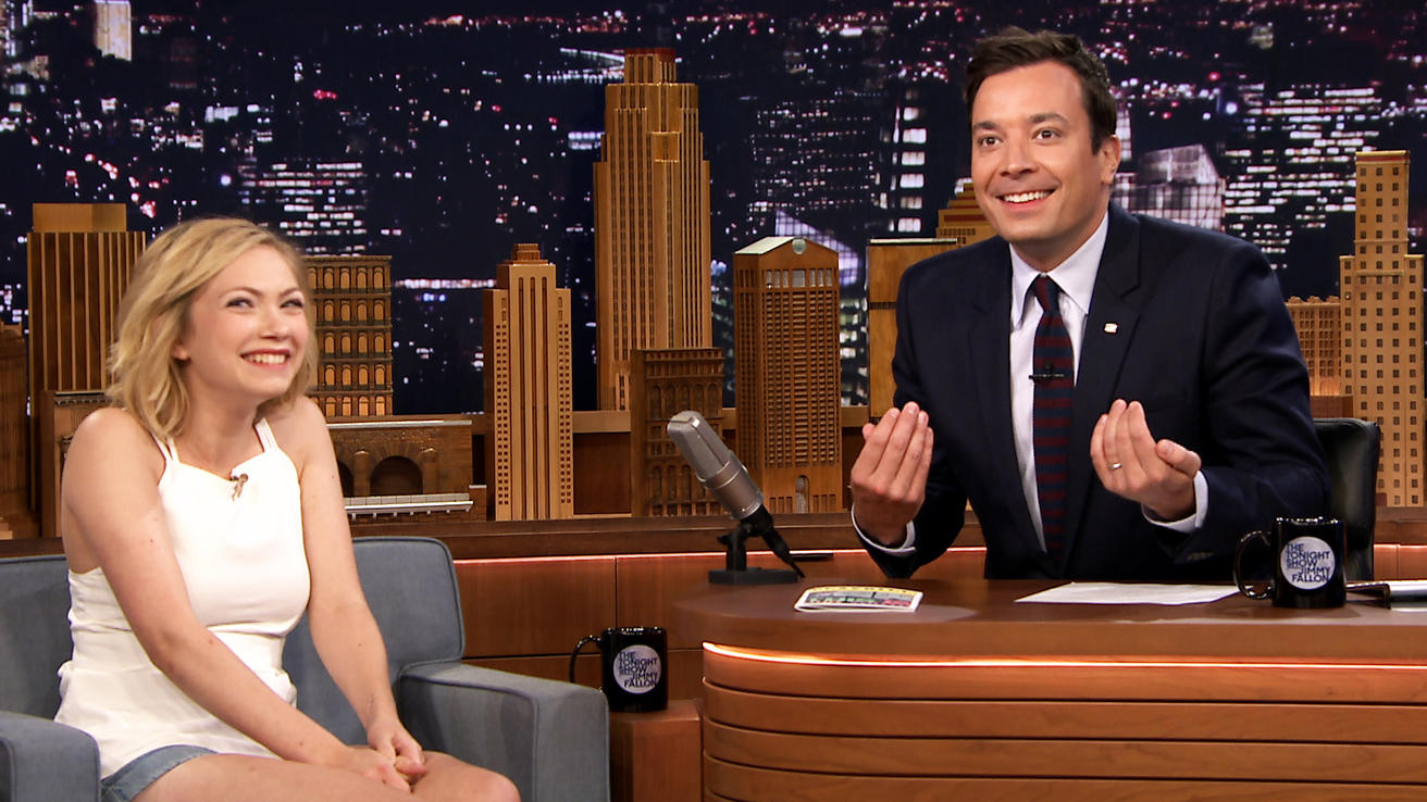 tavi gevinson guest on tonight show with jimmy fallon august 2014