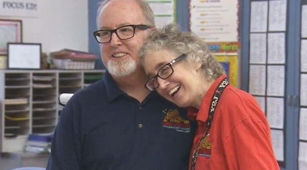 teachers donated 154 sick days to a teacher that lost benefits due to battle with breast cancer