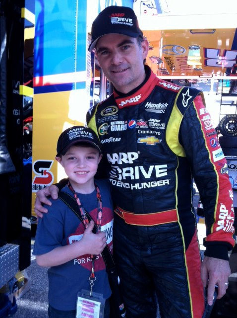 inspiring story about timmy tyrrell and how he inspired Jeff Gordon-racecar drivers