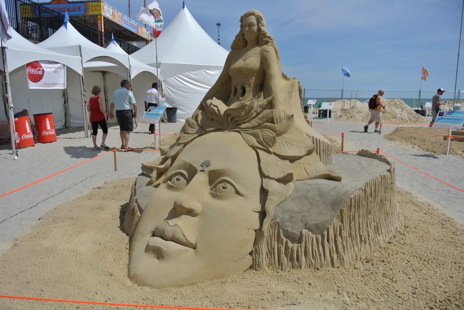 award winning sand sculpture at world cup of sand art 2014