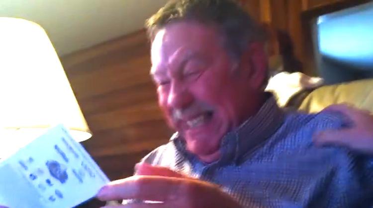 dad has cute reaction to special surprise-inspireMore