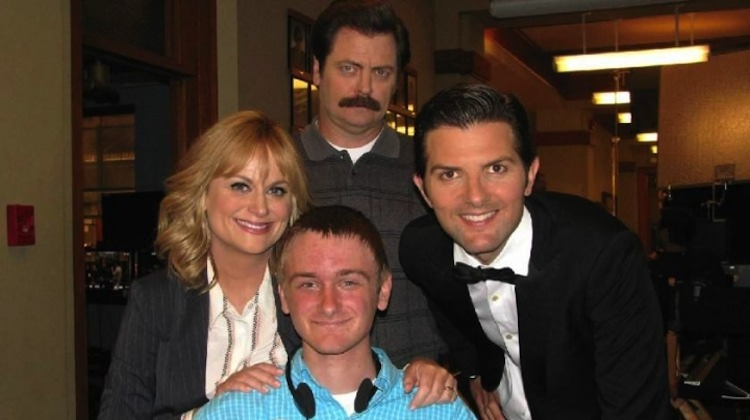 joshua ritter and nbc's parks and rec cast