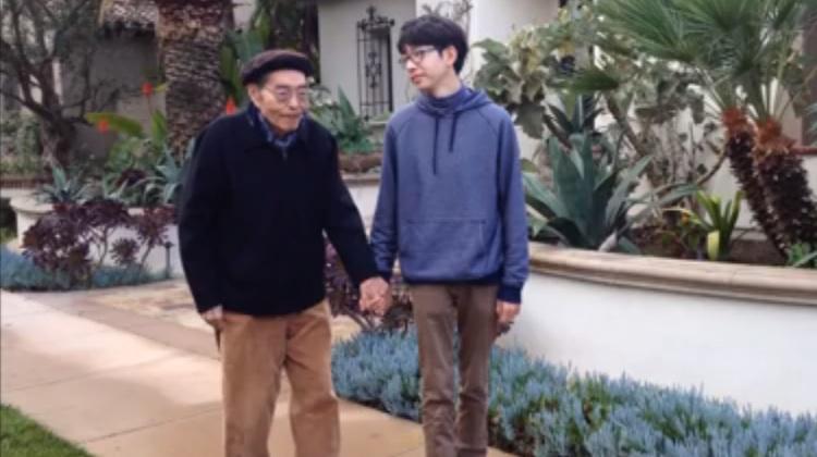 kenneth shinozuka and his grandfather