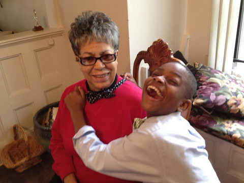 moziah and grandma