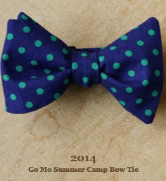 go mo bow tie summer camp