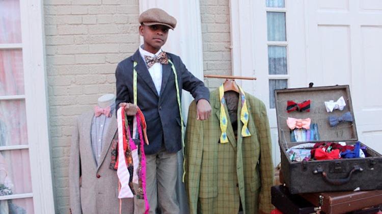 moziah bridges 12 year old bow tie designer