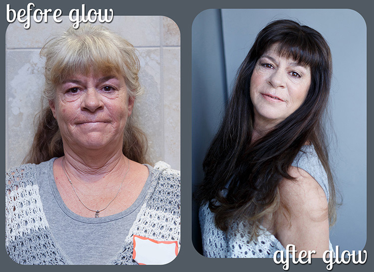 Dovie's beautiful transformation in before and after
