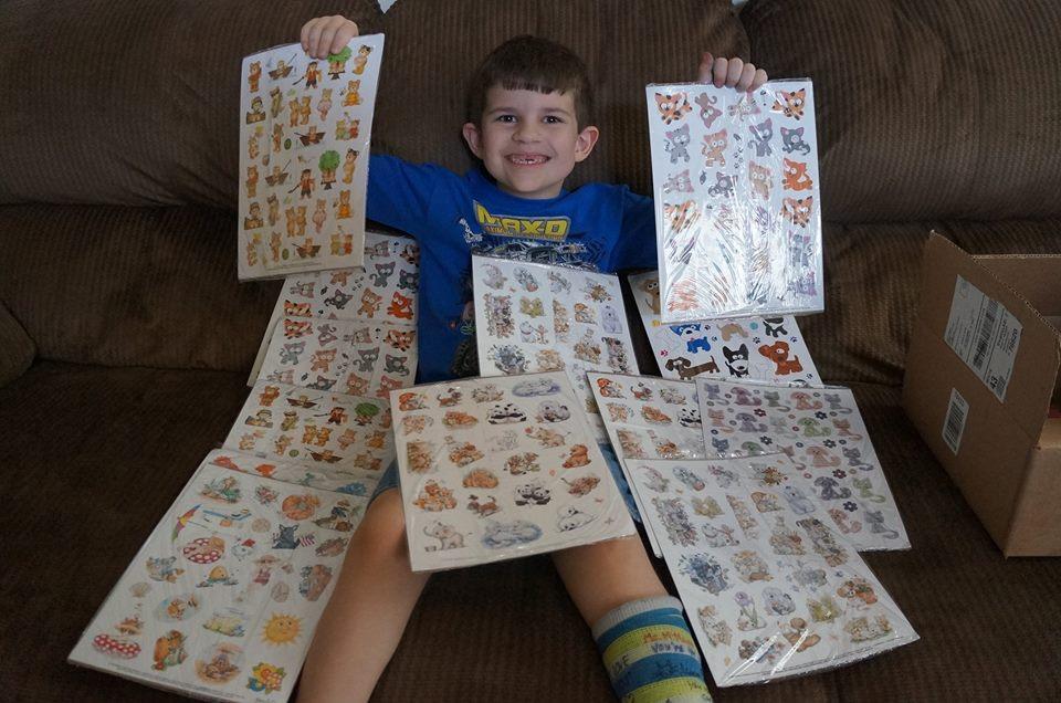 kobin and stickers
