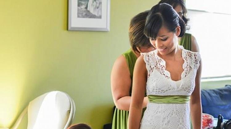 chi krneta of seattle makes her own wedding dress