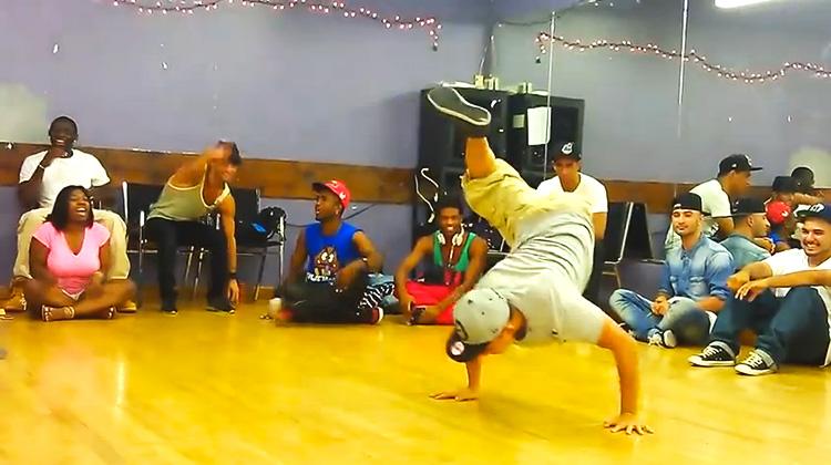 one legged break dancer-inspiremore