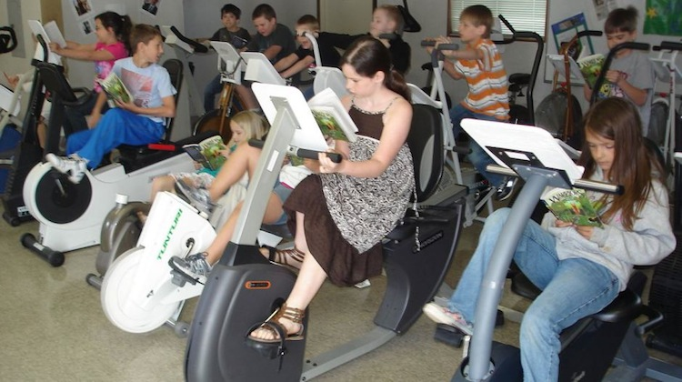 read and ride classroom
