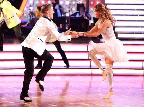 amy purdy dancing with derek hough on abc's dancing with the stars