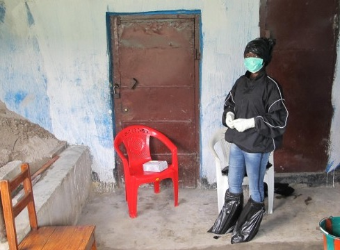 fatu kekula covered in layers of protective gear