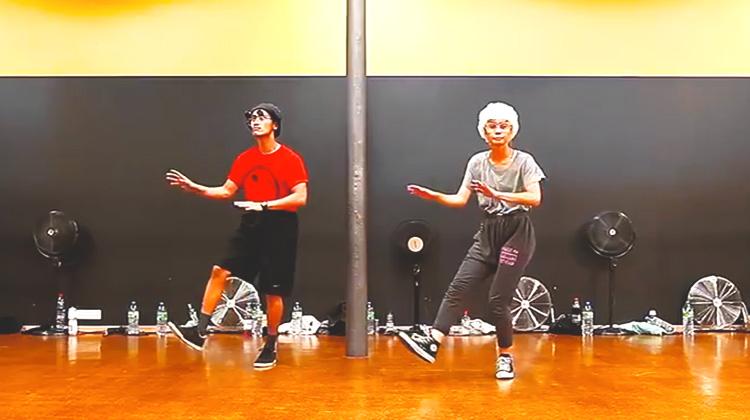 elderly couple dancing - inspire more