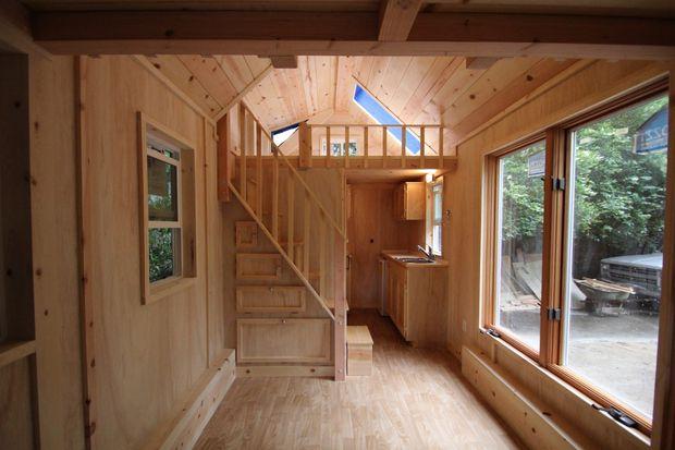 interior tiny home