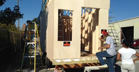 Cool Fraternity Bros Plan To Build Micro Homes To Shelter Struggling Largest Home Design Picture Inspirations Pitcheantrous