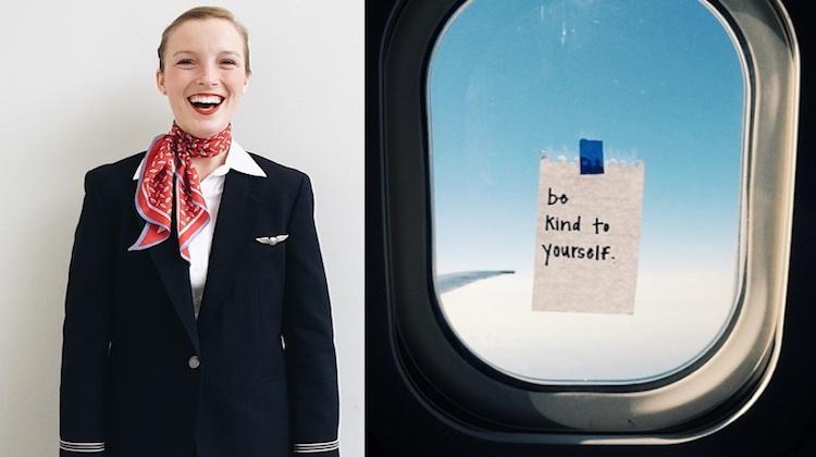 taylor tippett flight attendant leave secret messages