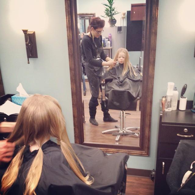 haircut for little girl