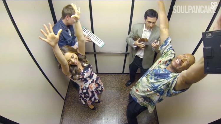 elevator musical performance