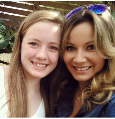 daughter with stepmom