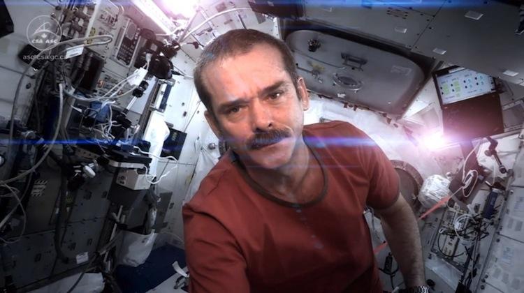 astronaut in a spaceship