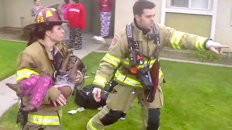 Brave Firefighter