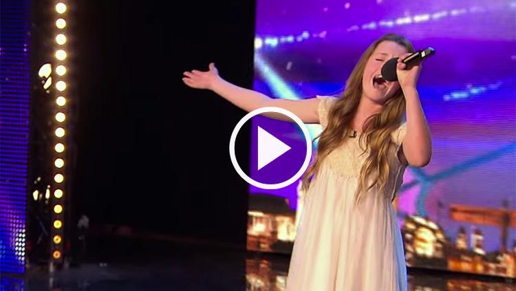 Maia Gough singing Whitney Houston's I Have Nothing