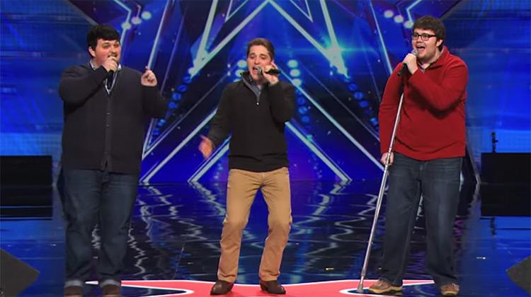Triple Threat performing on America's Got Talent