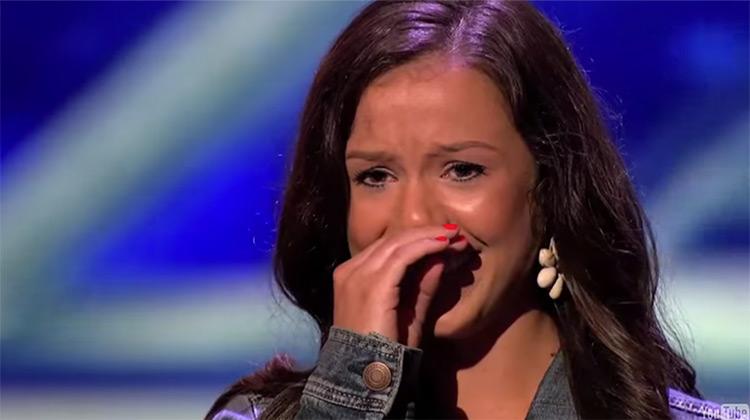 Brandi Love in X Factor audition