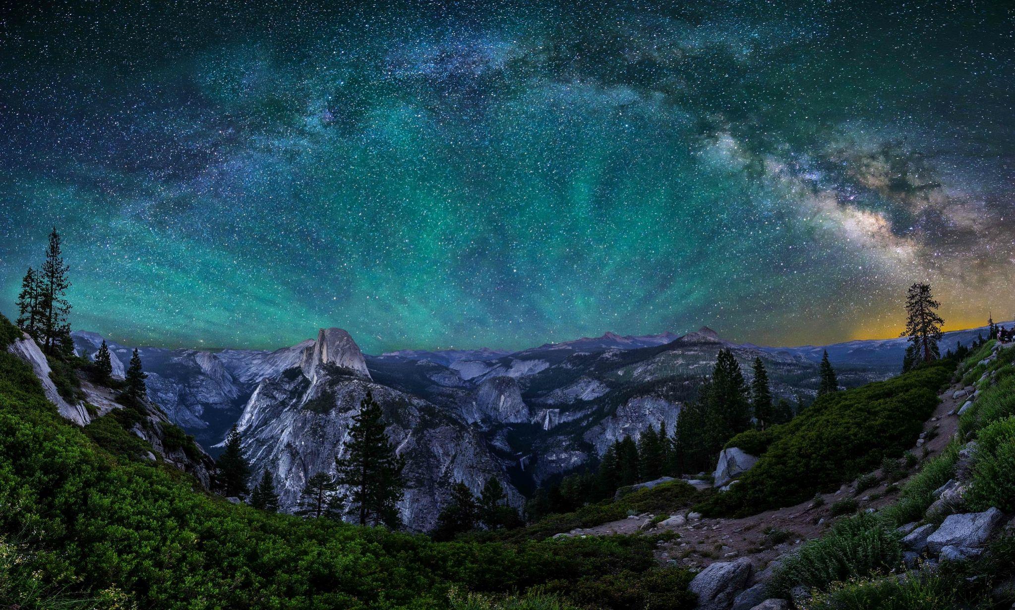 горы высота небо звезды без смс