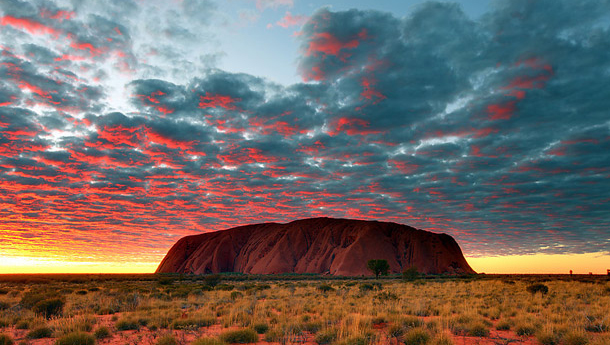 8 Ayers Rock Australian Outback