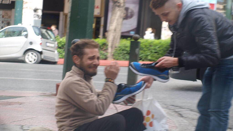 Creating Viral Social Content Was At The Black Heart Of: Viral Photos Of A Young Man Helping Homeless Friend Will