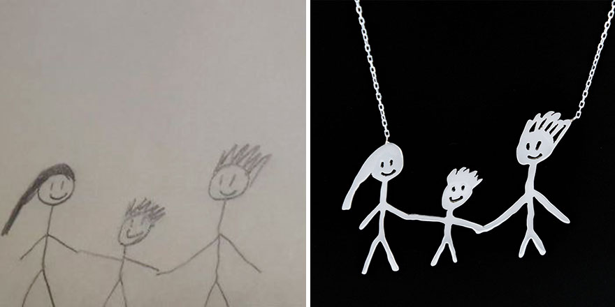 New Business Lets You Turn Your Kids Drawings Into Real