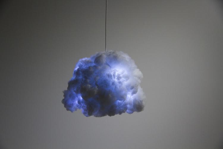 New Quot Cloud Lamp Quot Mimics Thunderstorm In Your Bedroom