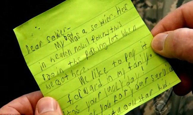 15 Tear Worthy Thank You Notes To Soldiers Written By Complete Strangers Inspiremore
