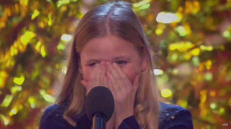 beau dermott overwhelmed after performance