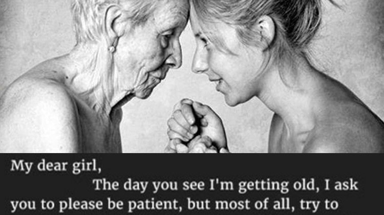Powerful letter from an aging mom to daughter is inspiring women aging mother and her daughter altavistaventures Choice Image