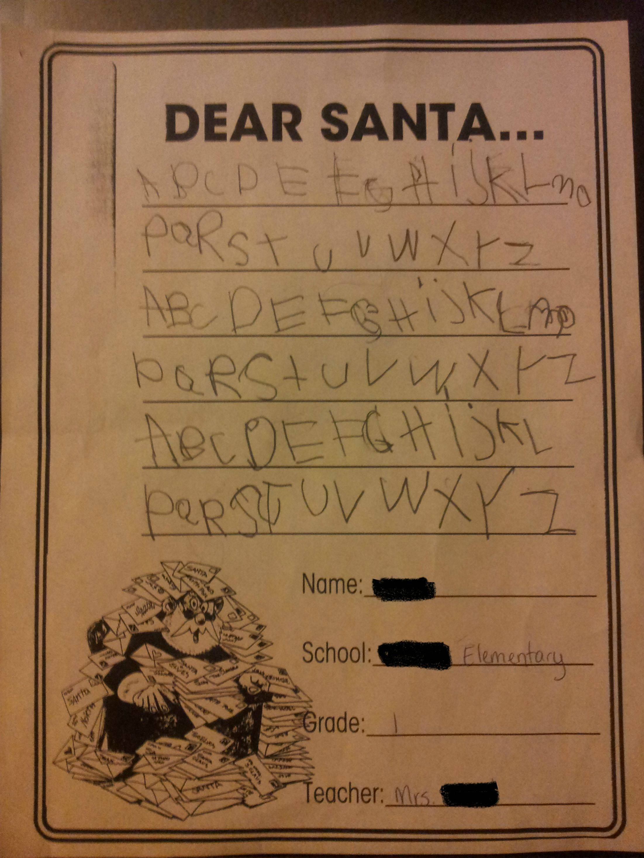 Dear Santa   Kids With Hilarious Christmas Requests