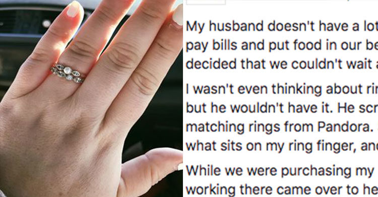 engagement ring viral post