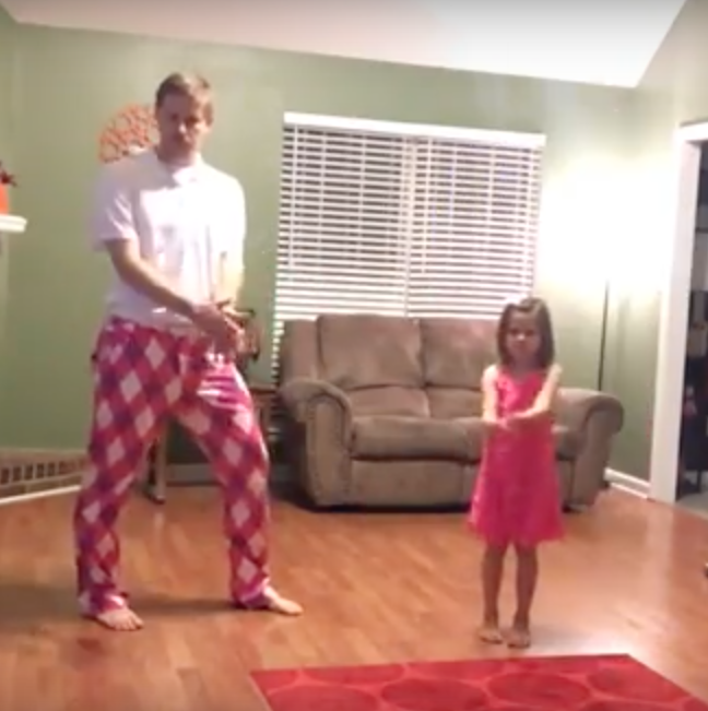 Mom's Gone. So This Dad And Daughter Turn The Camera On