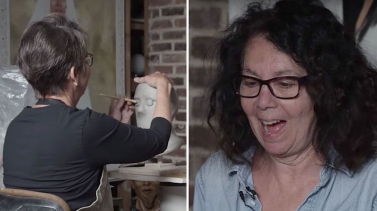 Sculptor Asks 3 Blind People To Describe Their Loved Ones The Resulting Art Is Remarkable